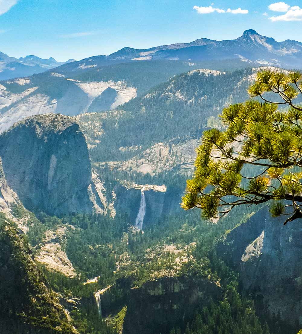 huge views yosemite national park