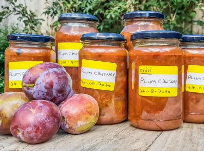 Plum Chutney Recipe – Tangy and Delicious