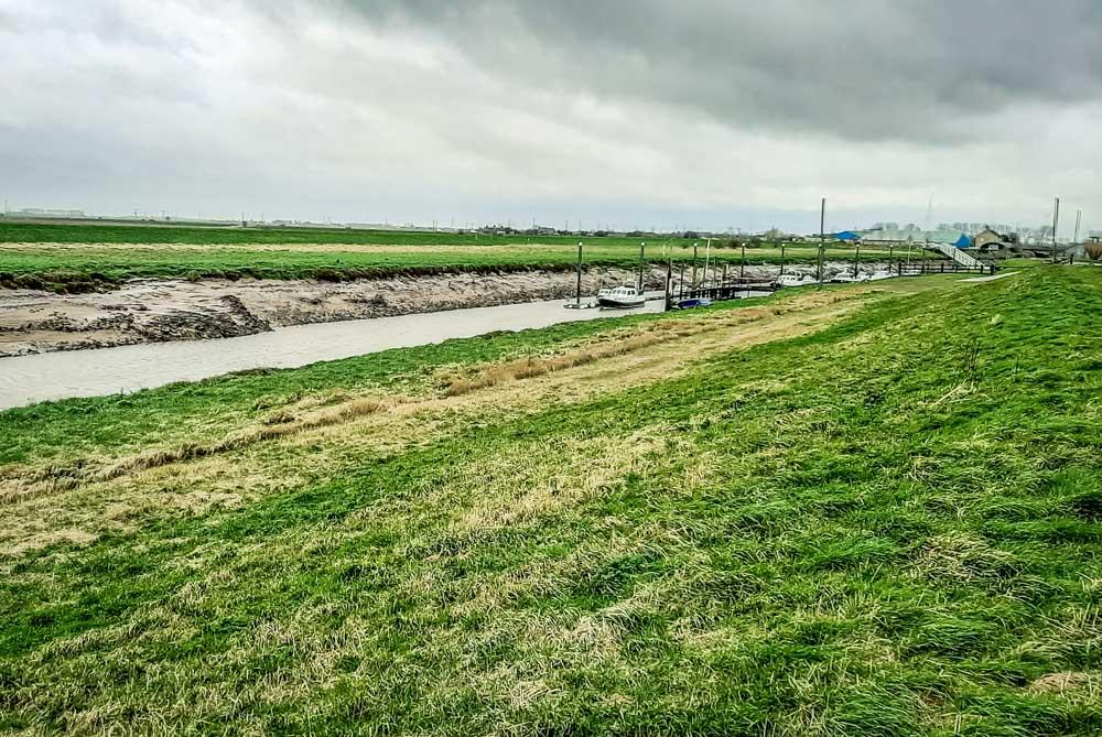The walk from Fosdyke Bridge