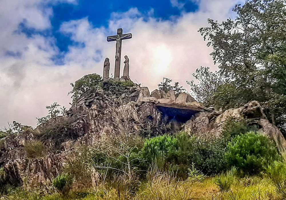 Holy-Cross-in-the-Mount-Saint-Bernard-Abbey-grounds Mount Saint Bernard Abbey Leicestershire