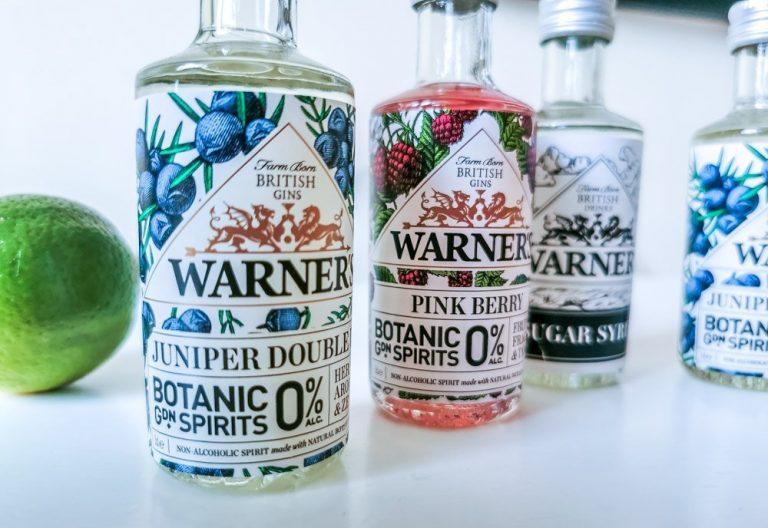 Warner's 0% Botanical Garden Gin – A Real Natural Flavour