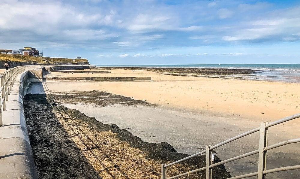 westgate on sea beach
