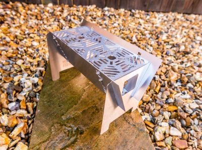 Fire Trough Stove By Richard Outdoors - Flat Pack Flexibility
