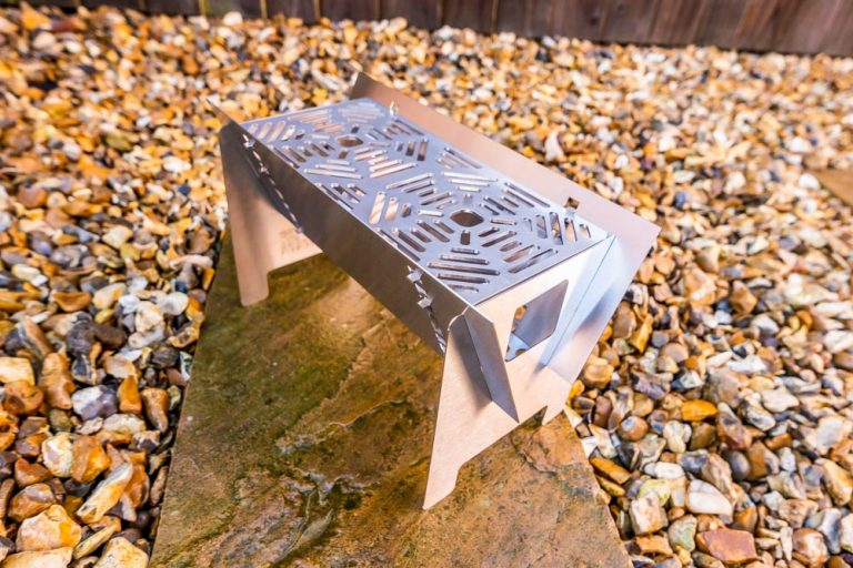 Fire Trough Stove By Richard Outdoors – Flat Pack Flexibility