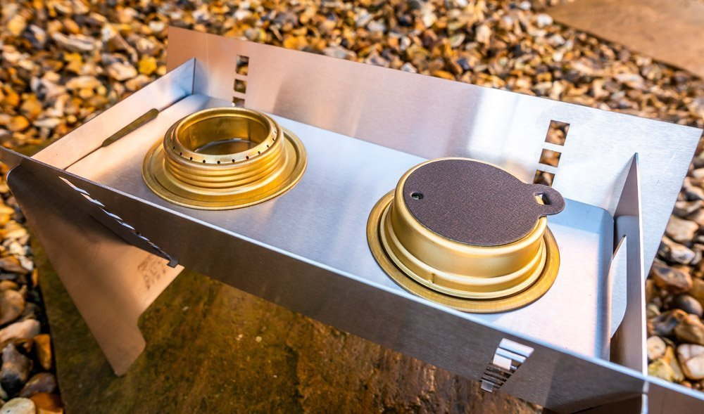 L1021164 Fire Trough Stove By Richard Outdoors - Flat Pack Flexibility