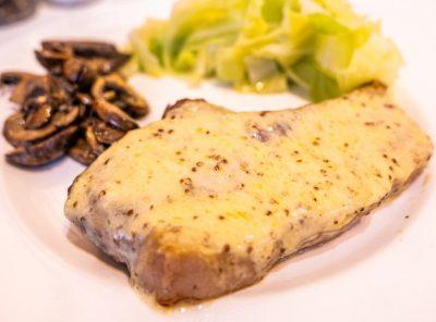 Rarebit Pork Chops Recipe