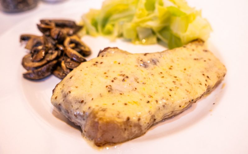 Rarebit Pork Chops Recipe