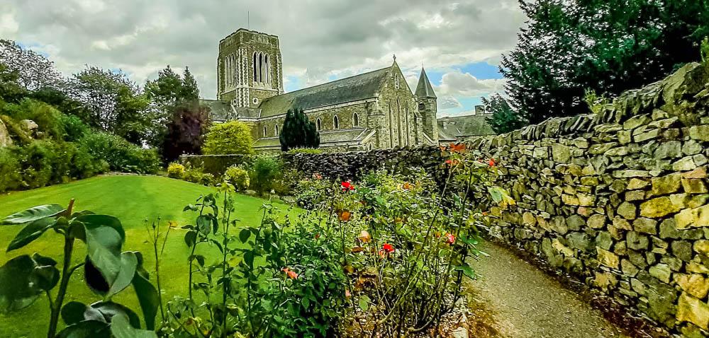 gardens of Mount Saint Bernard Abbey