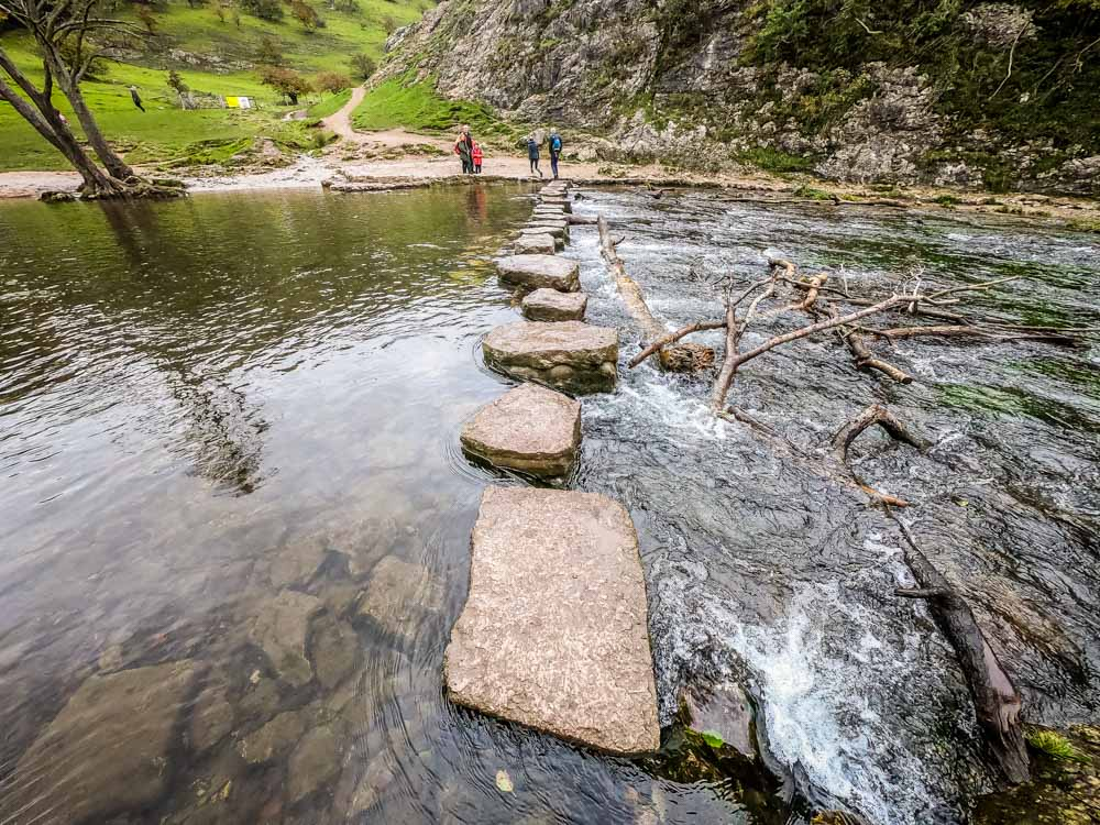 another-stepping-stones Exploring Dovedale - Caves, Limestone Spires, Riverside Walking