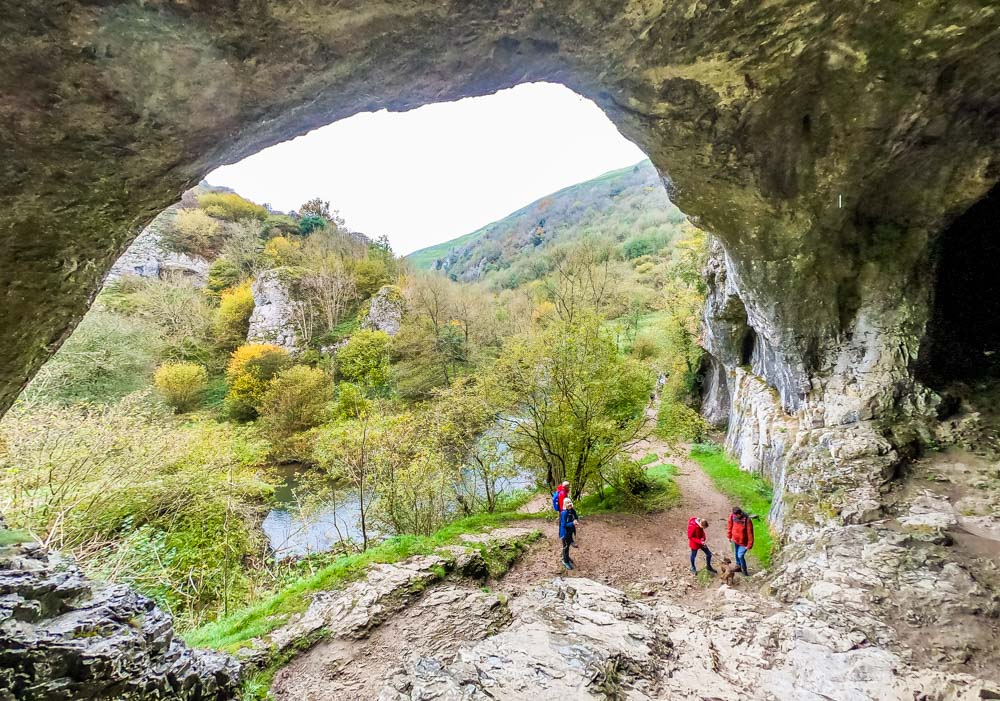 cave-view Exploring Dovedale - Caves, Limestone Spires, Riverside Walking