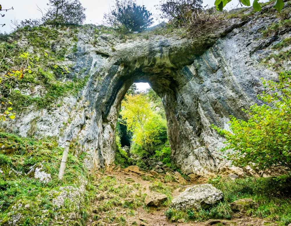 rock-arch Exploring Dovedale - Caves, Limestone Spires, Riverside Walking