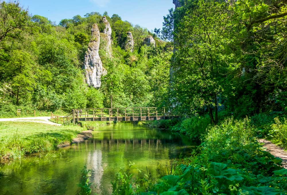 the river and the pinnacles