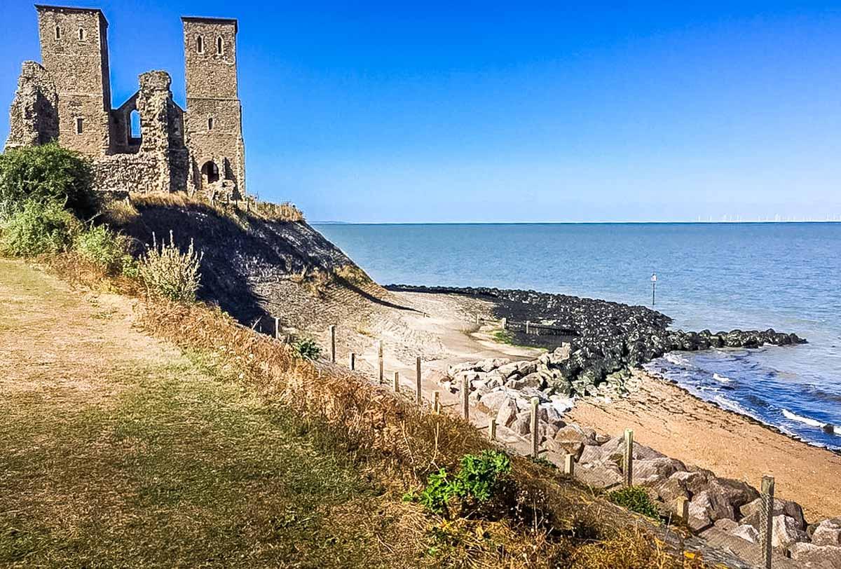 Herne bay reculver towers