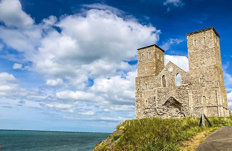 Exploring the Historic Reculver Towers of Herne Bay