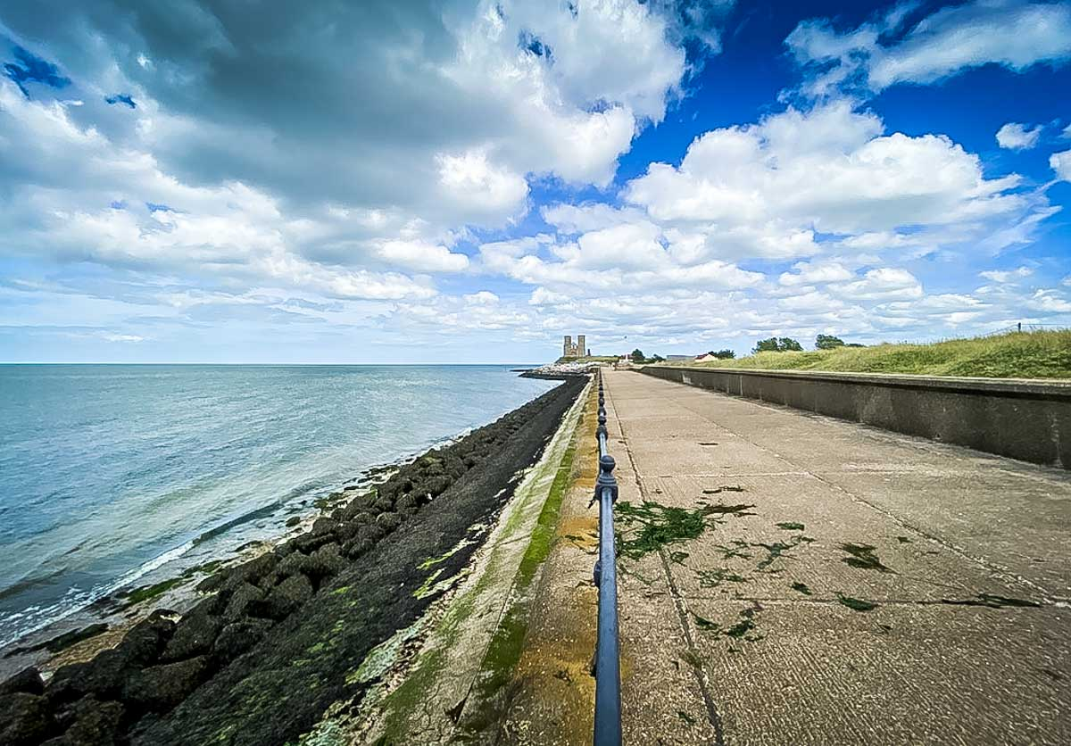 Exploring the Historic Reculver Towers of Herne Bay ...