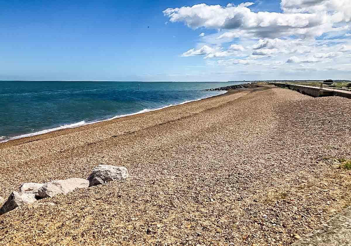 fossil beach reculver