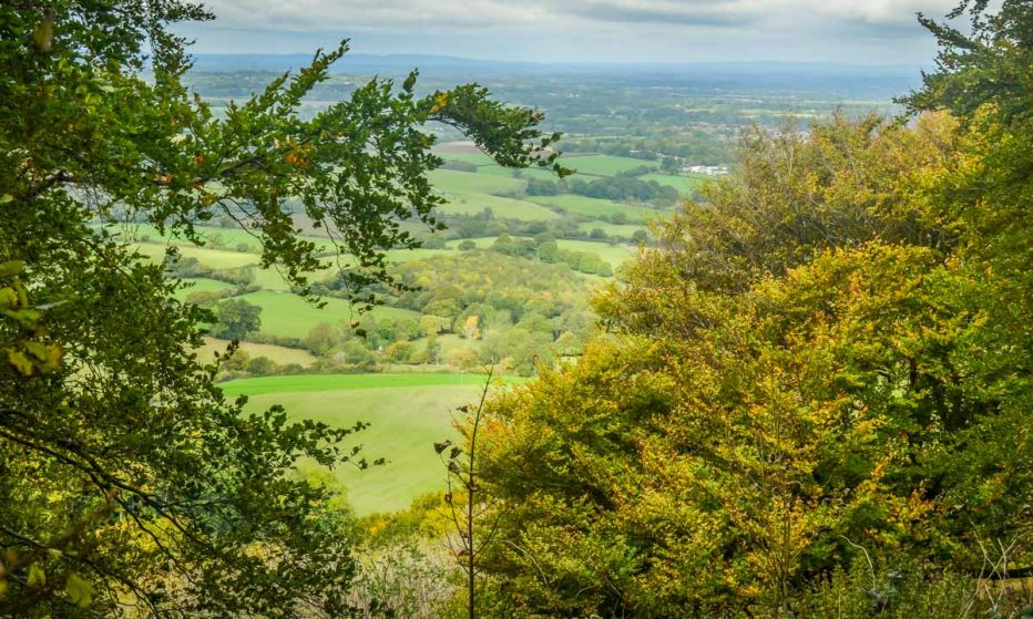 Chanctonbury Ring view out