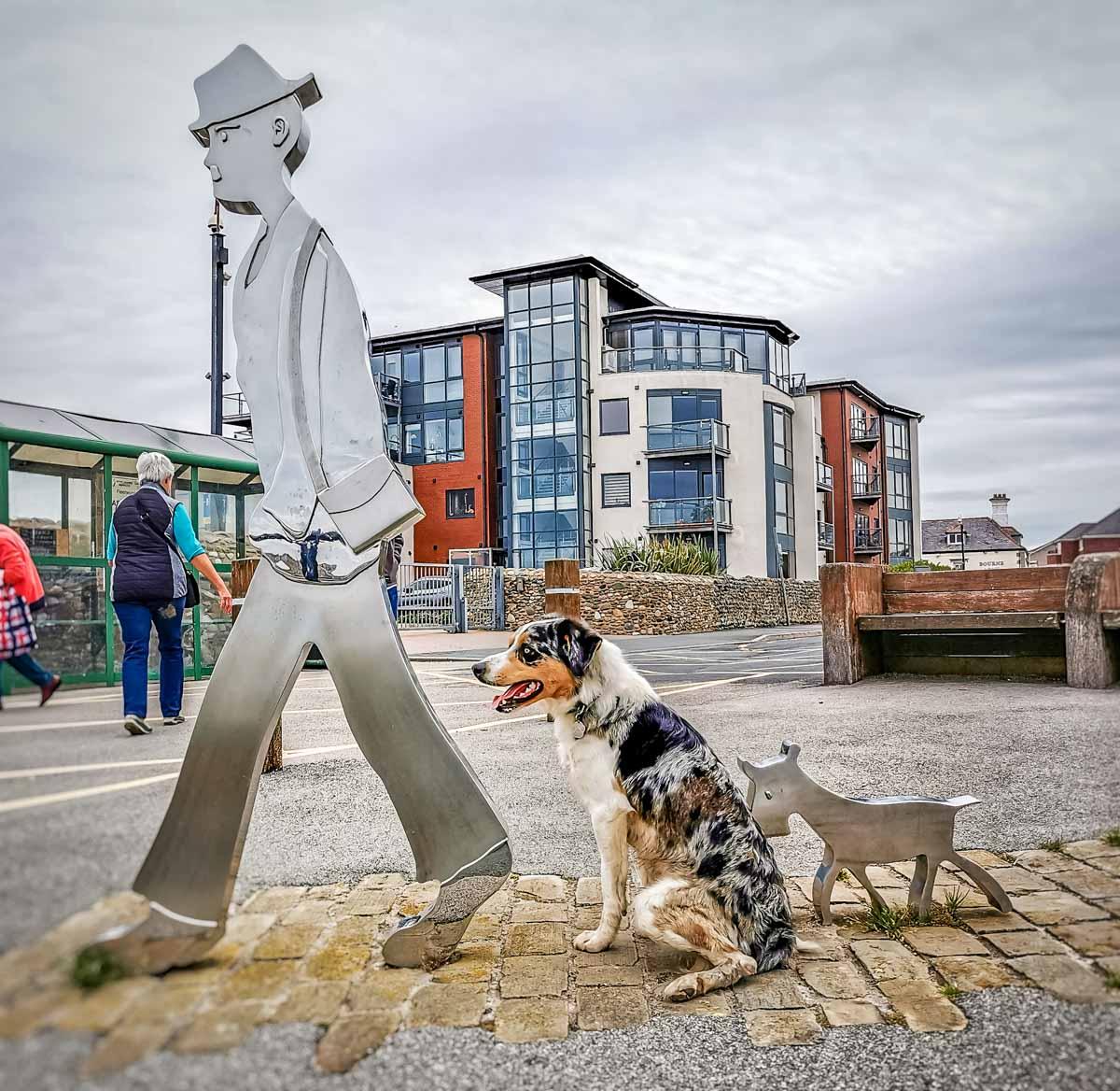 knott-end Walks Along The Wyre Estuary of Lancashire