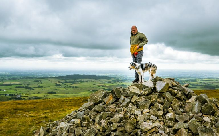 A Walk Up Fair Snape Fell and Parlick