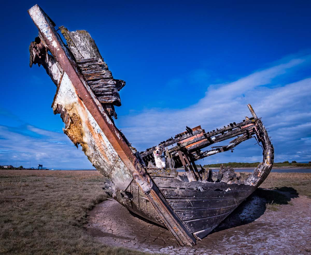 malc-on-wrecks Walks Along The Wyre Estuary of Lancashire