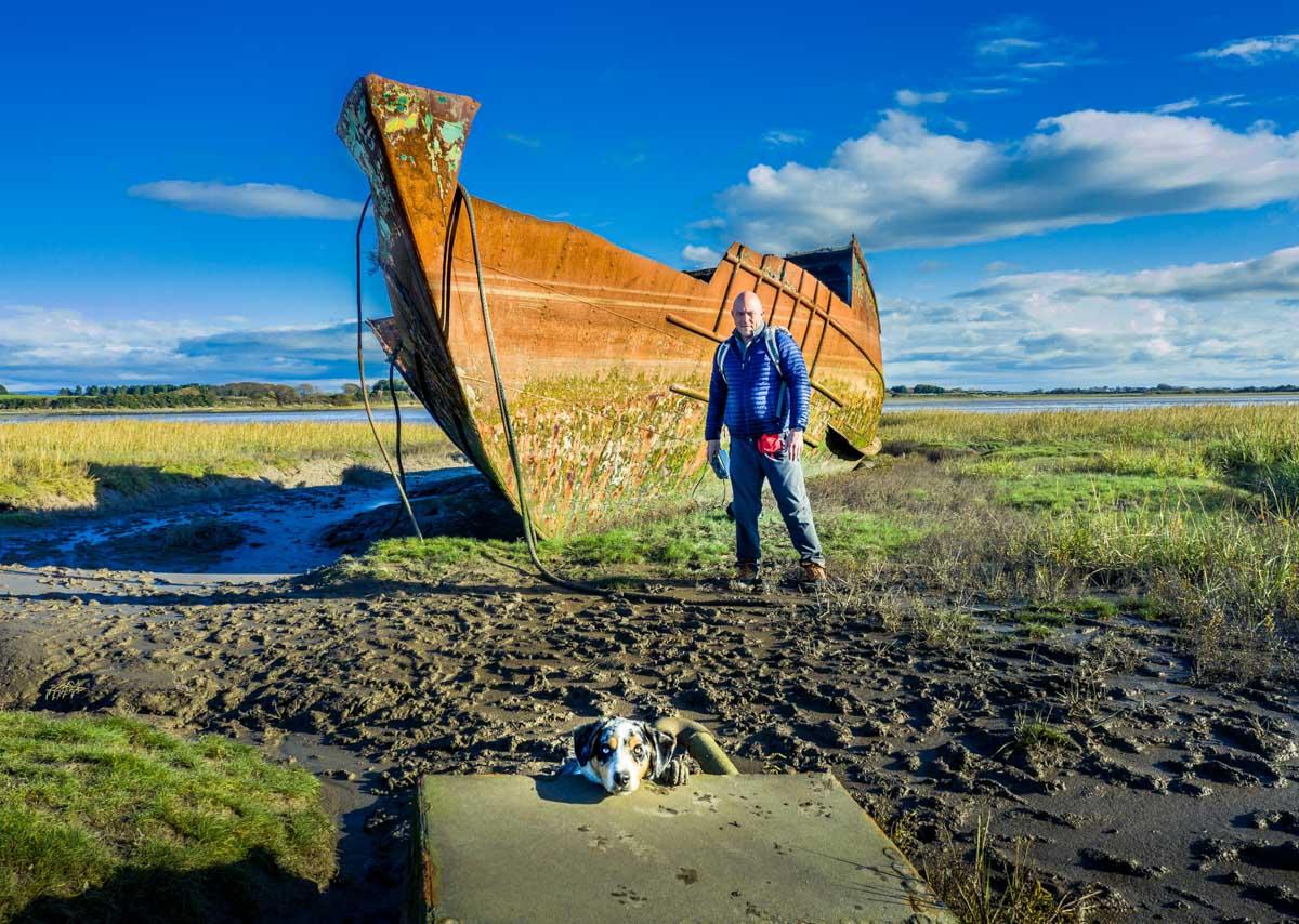 shipwrecks Walks Along The Wyre Estuary of Lancashire