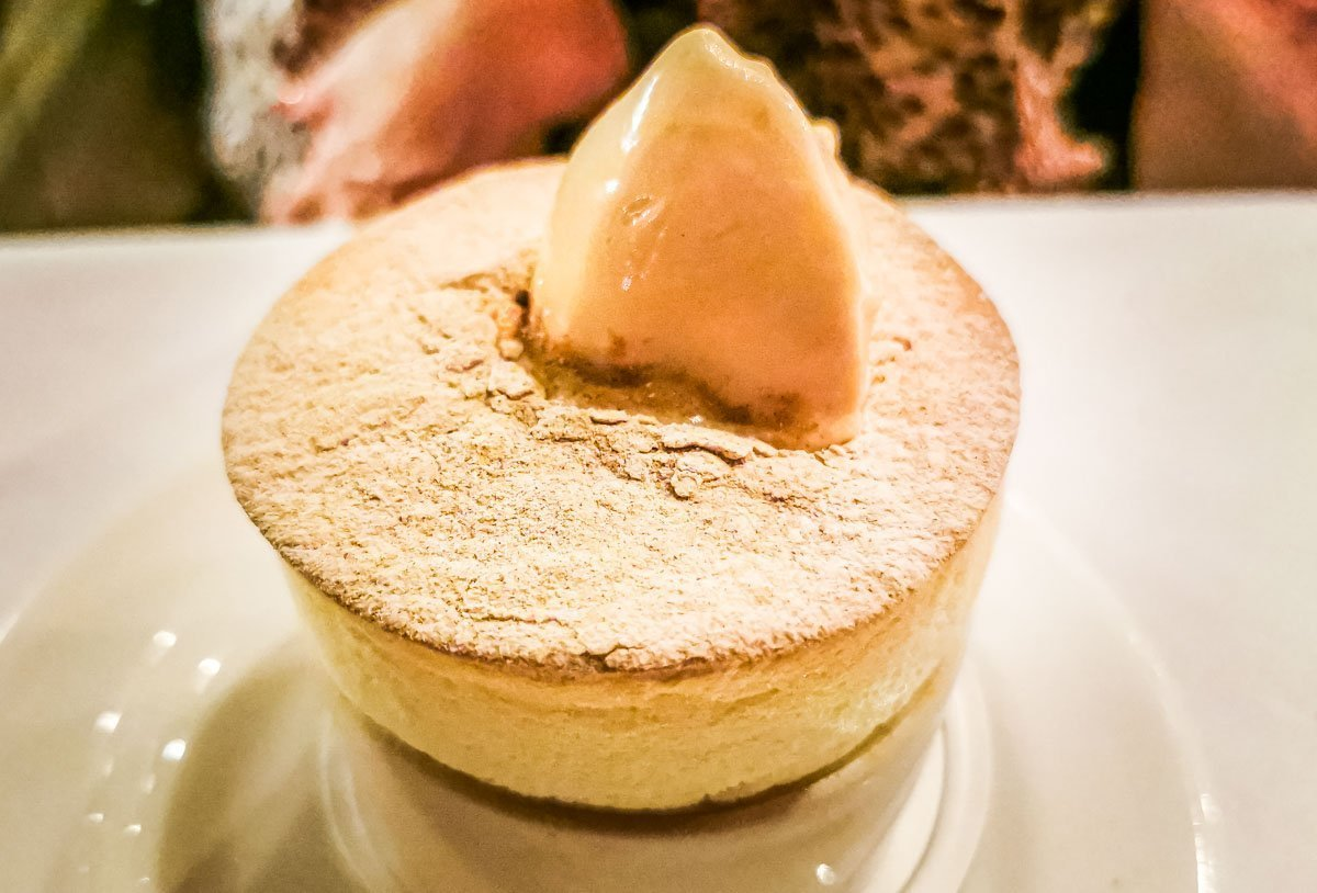 a perfect souffle dessert
