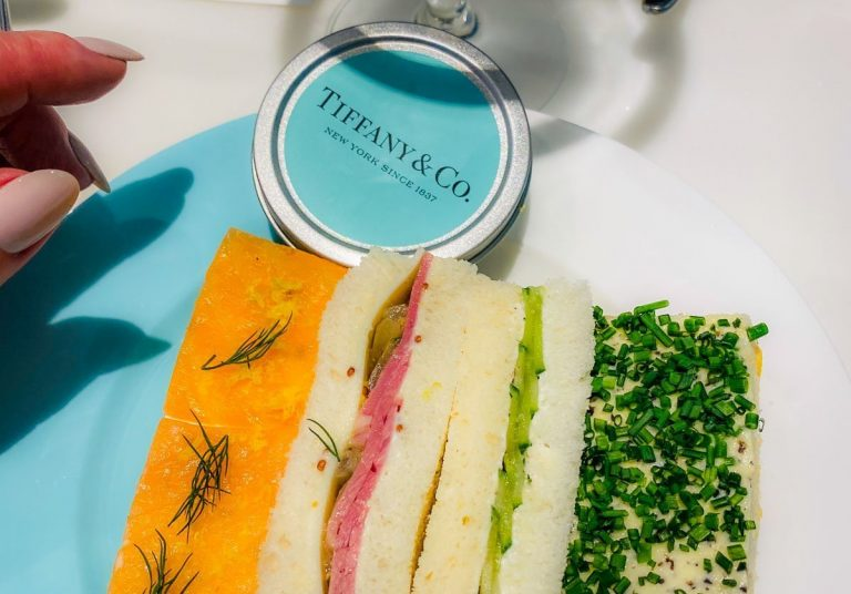 Afternoon Tea at Tiffany's Blue Box Cafe, Harrods