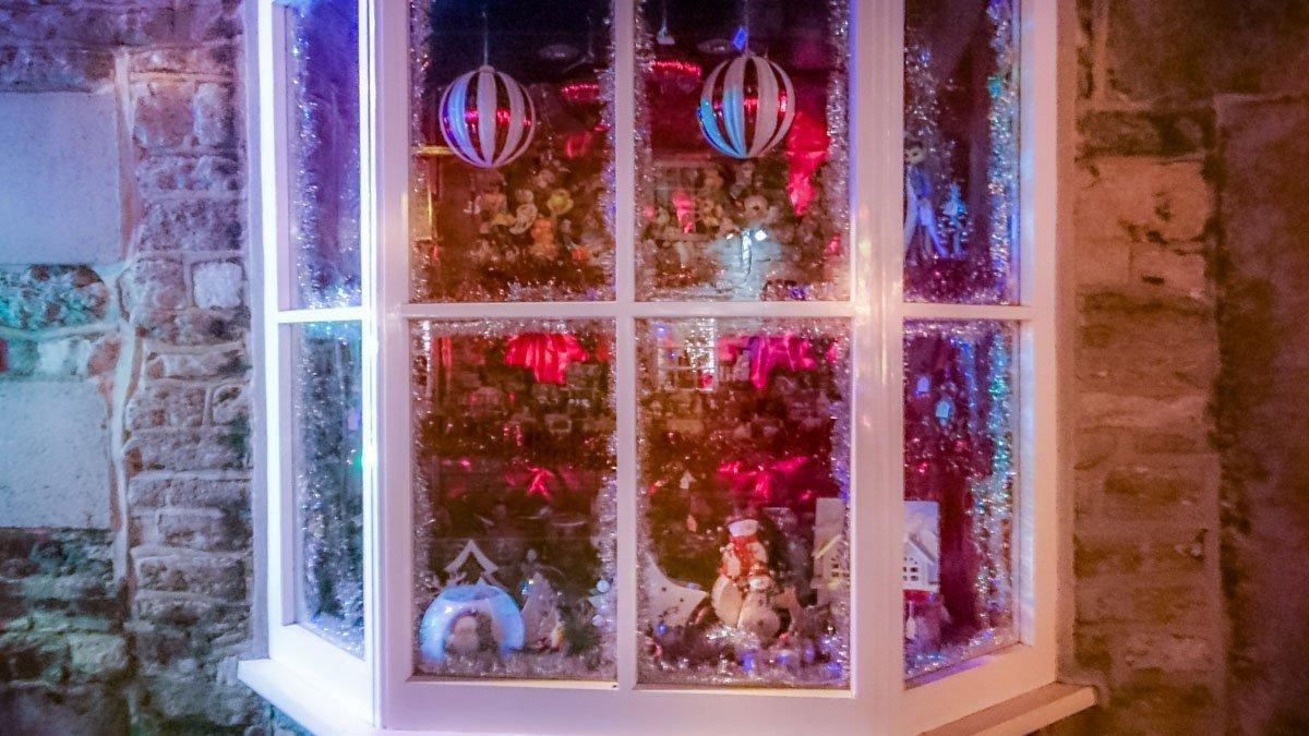 Festive-Shop-Window Castleton at Christmas, Family Memories