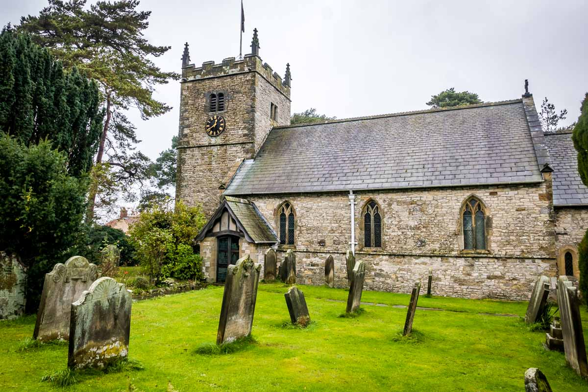 Nunnington village church