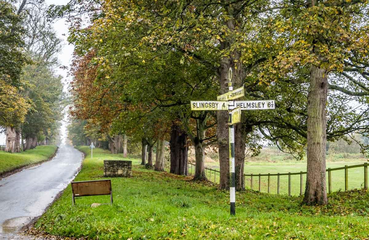 signpost in nunnington