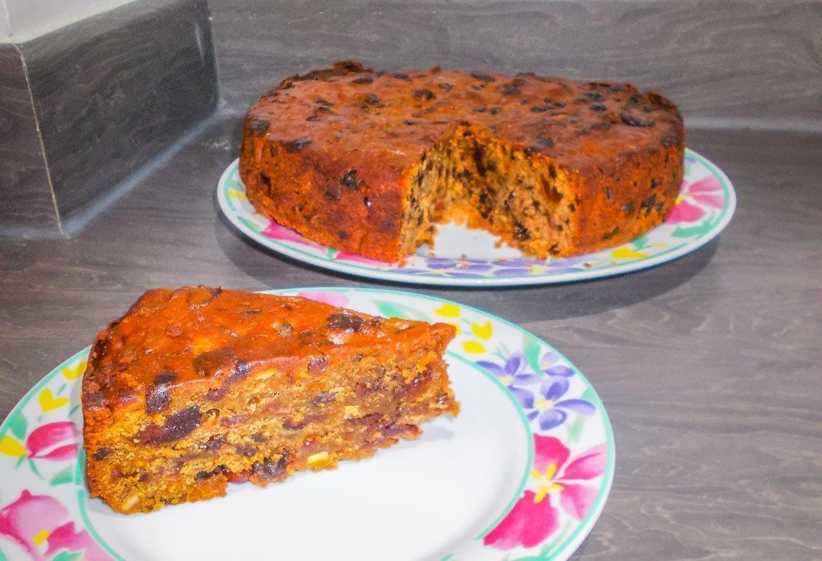 vegan xmas cake recipe