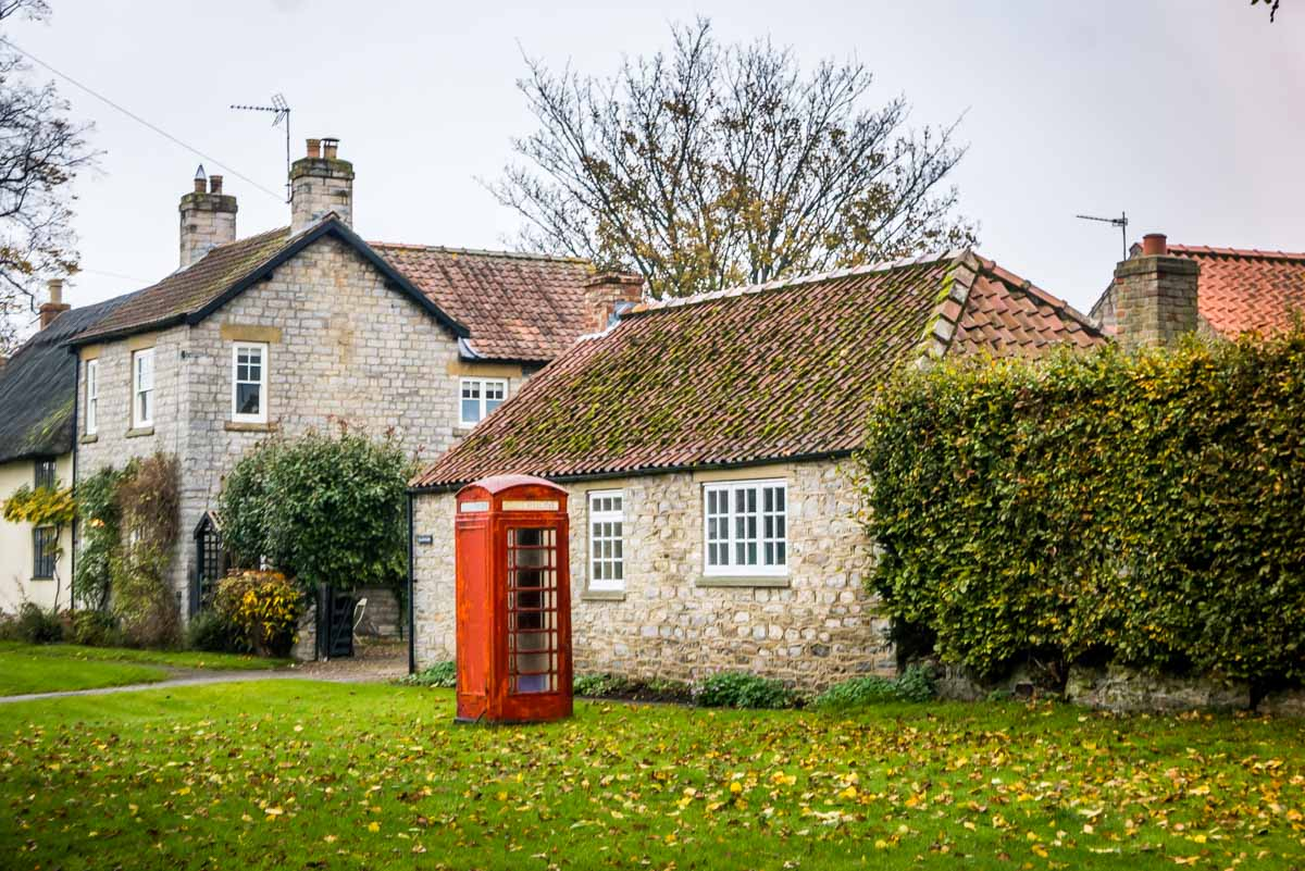 village-telephone-box Harome To Nunnington - A Ryedale North Yorkshire Walk