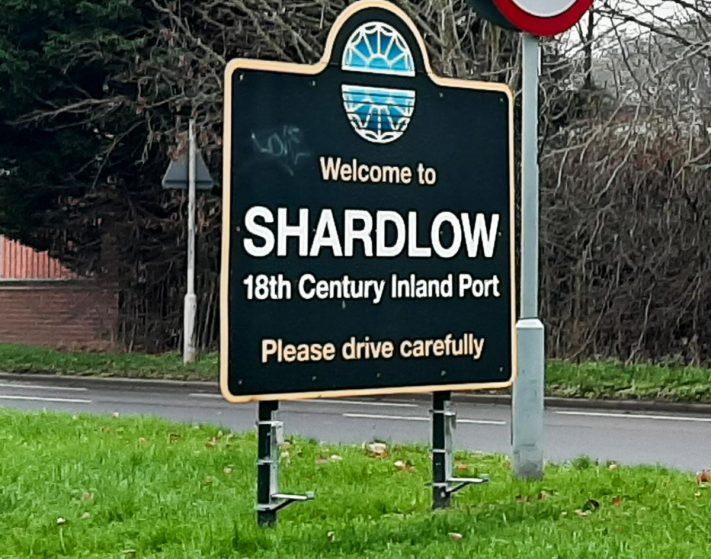 Shardlow village sign