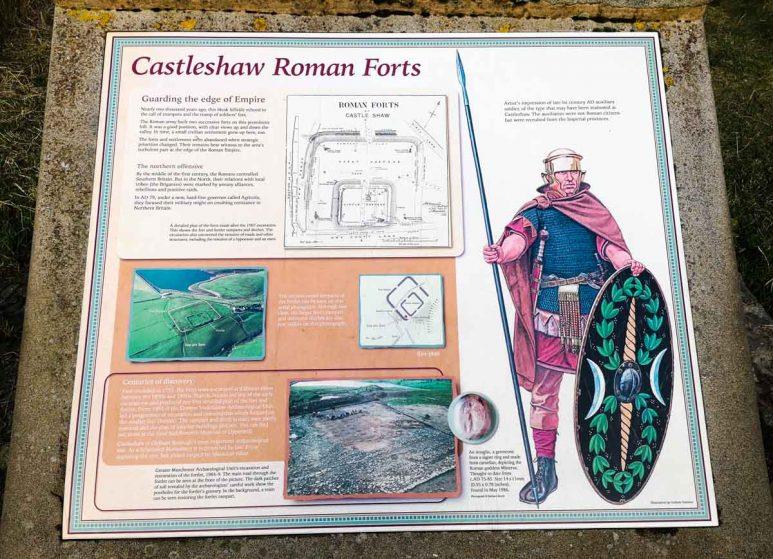 castleshaw roman forts