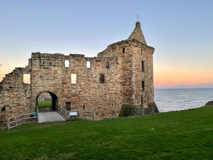 castle ruins st andrews