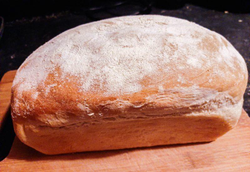 loaf of sandwich bread