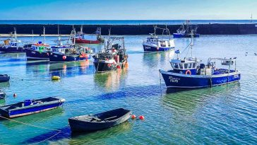 fishing boats folkestone