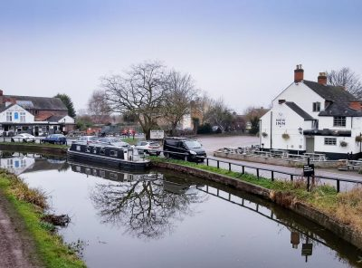 Shardlow Village On The Trent And Mersey Canal