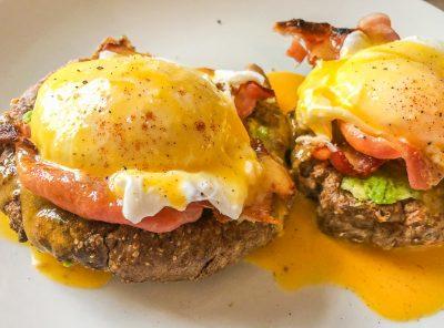 Keto Bread Recipe and Eggs Benedict