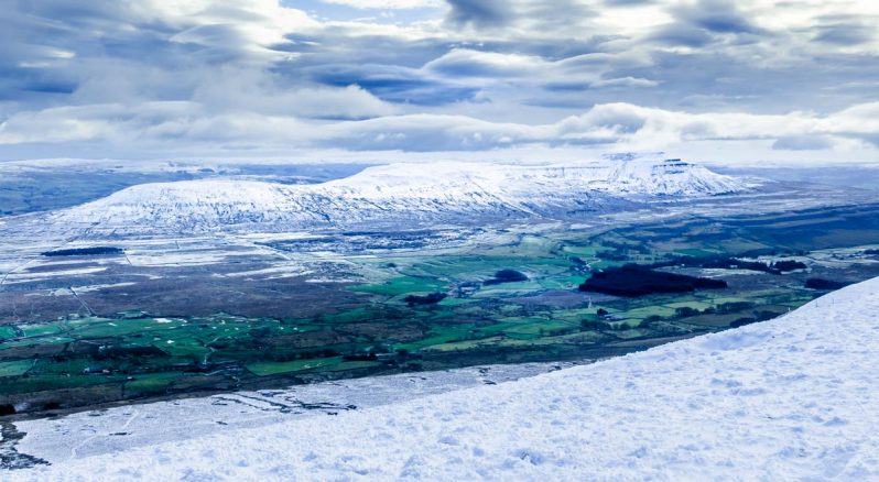 looking-to-ingleborough-798x438 Whernside - A Winter Walk To The Top Of The Yorkshire Dales