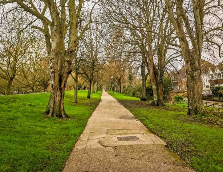 canalside path