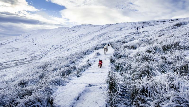 near-the-top-798x453 Whernside - A Winter Walk To The Top Of The Yorkshire Dales
