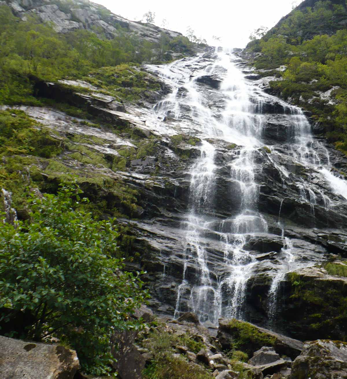 bottom of Steall falls