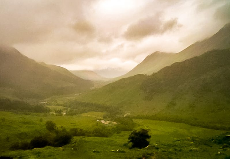 View down Glen Nevis