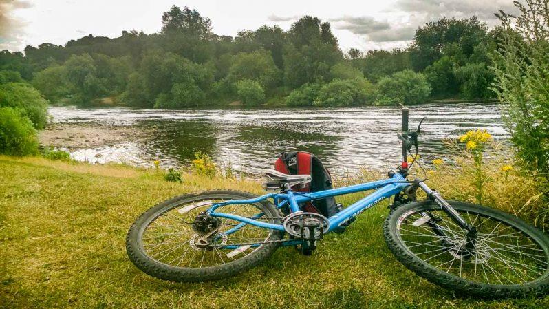 bike ride in British country