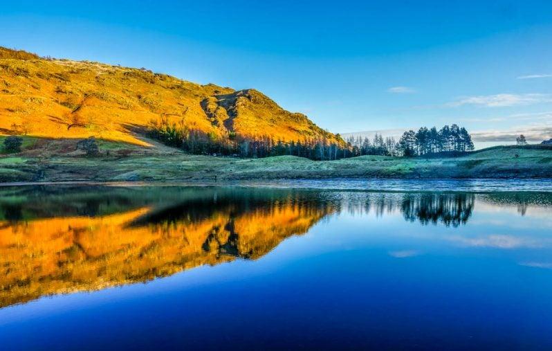 Blea Tarn and Lingmoor Fell