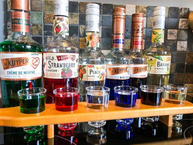 De Kuyper do many flavours of liqueurs