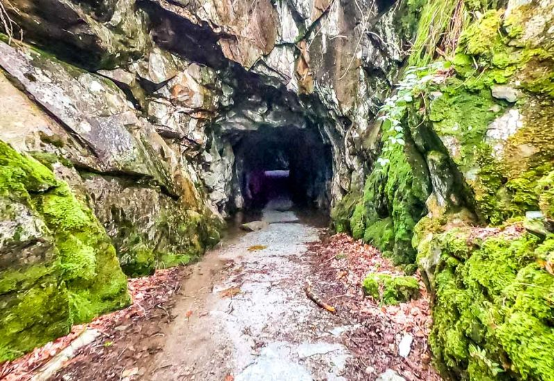Entrance to Cathedral Caves