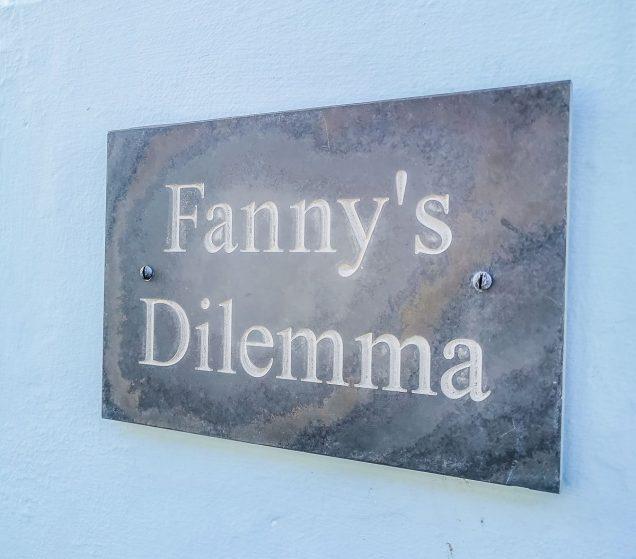 House name Deal Fanny's Dilemma