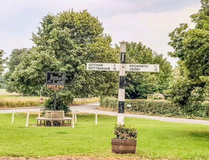 Kingston on Soar village Green